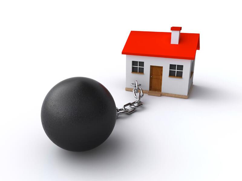 купля продажа недвижимости с обременением
