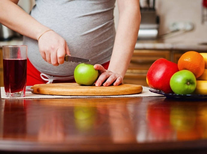питание для беременных правильный вес