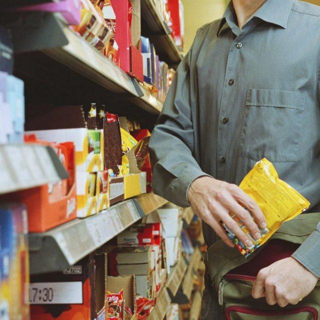 тому кражи в магазинах самообслуживания если это