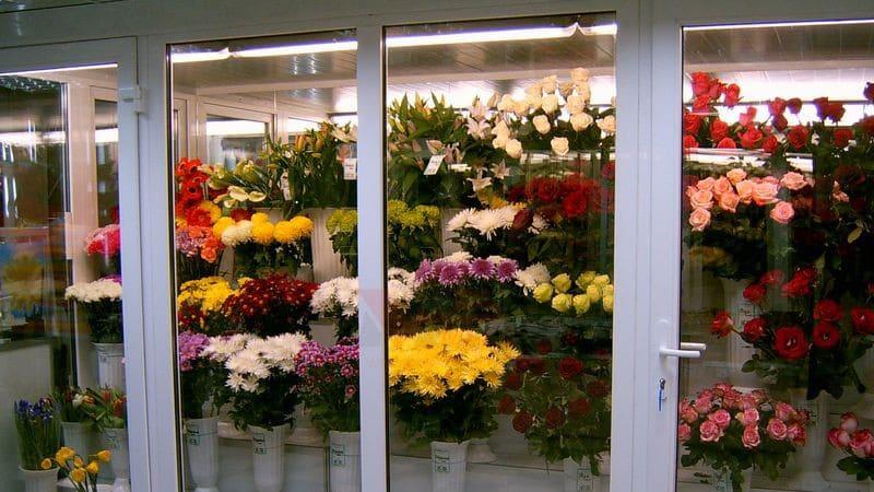 Цветочный салон в бизнес центре