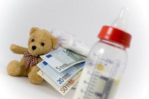 Увеличение расходов на содержание ребенка