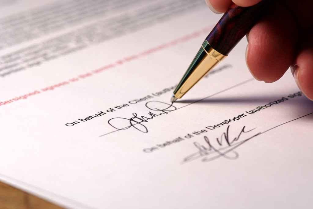 Сообщение о расторжении договора образец