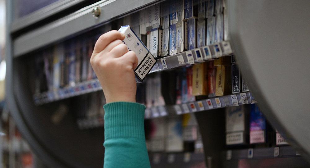 Продажи табачных изделий в рф электронные сигареты одноразовые рейтинг 2020