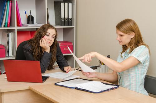 Порядок исправления бухгалтерских документов - Бухгалтерия
